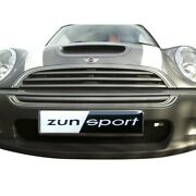 Zunsport Black Front And Rear Grille For Mini Cooper S 2001-06 Zbm1501b