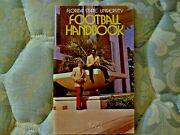 1972 Florida State Football Media Guide Bill Parcells Mack Brown Gary Huff Ad
