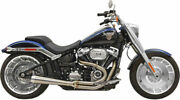 Bassani Road Rage 3 2 - 1 Stainless Exhaust Pipe Harley Softail Fat Boy Breakout