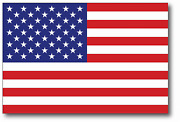 Reflective 10 X 6 American Flag Vinyl Car Sticker Decal Made Usa Buy2get1free