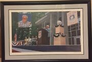 Ultimate Cubs Fan Christmas Gift. Harry Caray Signed Lithograph By Andy Jurinko