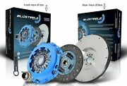 Blusteele Heavy Duty Clutch Kit Flywheel For Renault Megane F9q 1.9 Dci
