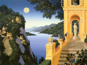 Jim Buckels The Two Suitors Serigraph On Paper Ltd Ed 56/195 Unframed