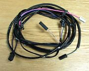 1957 Chevy Starter Wire Harness 8 Cyl With Hei Ignition Automatic Transmission