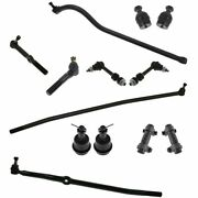 Front 13 Pc Suspension Ball Joint Tie Rods Track Bar Kit Set For 94-95 Ram 4x4
