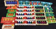 Rare Huge Lot Of Vintage Christmas Bulbs Replacement Lights Hard To Find Nos
