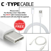 123 M Long Usb Type C 3.1 Fast Data Charger Cable Lead For Samsung Galaxy S8 S8+