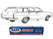 Holden Body Rubber Kit Hr Wagon Premier/special Maroon