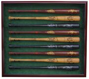 9 Baseball Bat Display Case - A Usa Product - Unsurpassed Quality