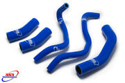 As3 Performance Silicone Radiator Hoses Blue To Fit Yamaha Mt-07 Fz-07 2014-2019
