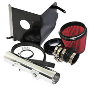 Red Cold Air Intake Kit+heat Shield Fit 05-11 Toyota Tacoma 4.0l V6