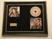 Signed/autographed Kelly Clarkson - Meaning Of Life Framed Cd Presentation. Rare