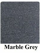16 Oz Cutpile Marine Outdoor Bass Boat Carpet 1st Quality 8.5and039 X 30and039 Marble Grey