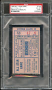 1949 All Star Game Ticket Stub @ Ebbets Field Jackie Robinson 1st All Star Game