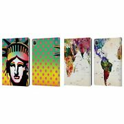 Official Mark Ashkenazi Pop Culture Leather Book Wallet Case For Apple Ipad