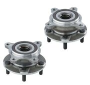 Dta 2 Front Wheel Hub Bearing Assemblies Gs300 Gs350 Is250 Is300 Is350 Awd