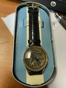 1993 Muhammad Ali G.o.a.t. Limited Edition Watch By Fossil With Box 198/300