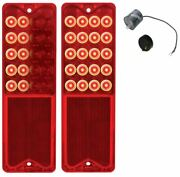 United Pacific Sequential Led Tail Light Set 1967-1972 Chevrolet And Gmc Truck