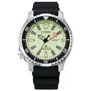 Citizen Promaster Ny0130-83e Automatic Black Dial Stainless Steel Watch Asia Ltd