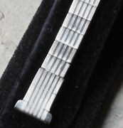 Early Watch Band From 1920s For 16mm Fixed Lugs Watch Or Works With Spring Bars
