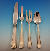 Etruscan By Gorham Sterling Silver Flatware Service For 8 Set 40 Pieces