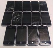 Lot Of 14 Apple Iphone 3gs 8gb A1303 Atandt Black - Power Up, Good Lcd, Read Below