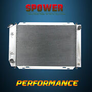 3-row/core Aluminum Radiator For Ford Cougar Fairmont Mustang At Mt 80-93