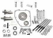 Sands 570g Gear Drive Cams Pushrods Lifters Engine Install Kit Camshafts Harley