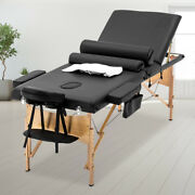 Bestmassage Comfort Pad Portable Massage Table Facial Spa Bed W/ Carry Case