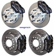 Wilwood Disc Brake Kit,1960-72 Dodge And Plymouth A-body With Drum Brake Spindles