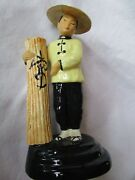Mid Century California Pottery and Walter Wilson Oriental Figurines