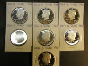 2012 S 2013 S 2014 S 2015 S 2016 S 2017 S 2018 S Clad Proof Kennedys 7 Coins