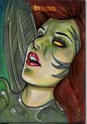 Breygents Witchblade 2014 Sketch Card By Veronica O'connell