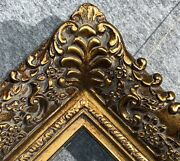 4.75 Picture Frame Antique Gold Bronze Museum Oil Painting Frames4art 256g
