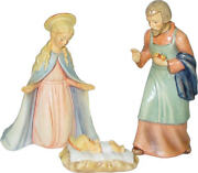 Hummel 214/1 Large 3 Piece Nativity Joseph 7 Inches Tall. New In Box