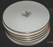Lenox R-442 Wheat Pattern 6.25 Bread And Butter/ Desert Plates 3 Lots Of 4