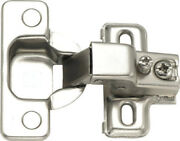 Face Frame Concealed Cabinet Hinges Self Closing Compact Euro 25 Lot Pack