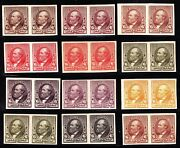Us 224tc5 6c 1890 Issue 12 Different Trial Colors Pairs Complete Scv 2880