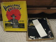 """Cowgirl 12 Official Hopalong Cassidy """"complete Outfit For """"hoppy"""" Youngsters Box"""