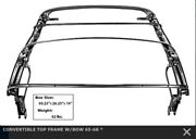 1965-1968 Mustang Convertible Top Frame W/bow