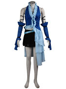Final Fantasy X-2 Cosplay Costume Yuna And Lenne Songstress V3 Outfit Set