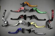 Adjustable Folding Levers Clutch And Brake Lever Cnc Honda Gb 500 Clubman 1985-91