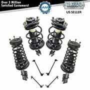 8 Piece Suspension Kit Strut And Spring Assemblies Sway Bar Links For Camry Es300