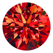 Certified Round Fancy Red Color Si 100 Loose Natural Diamond Wholesale Lot