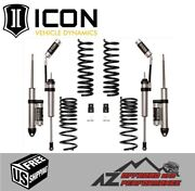 Icon 2.5 Suspension System Stage 2 Performance Kit For 2014-2020 Ram 2500 4wd