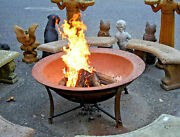 New Solid 1/4 Inch Steel Fire Pit Stand 43 Diam Fire Pit Sold Separately