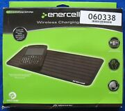 Enercell 2300476 Wireless Charging Pad With Wildcharge Technology - Black