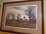 David Hagerbaumer Home Place Covey Print 131 Of 950 Framed
