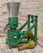 Model 200 8 Pto Powered Feed/fertilizer Pellet Mill W/support. Usa In-stock