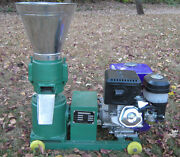Model 150 6 13hp Gas W/electric Start Pellet Mill. Usa In Stock. Free Shipping